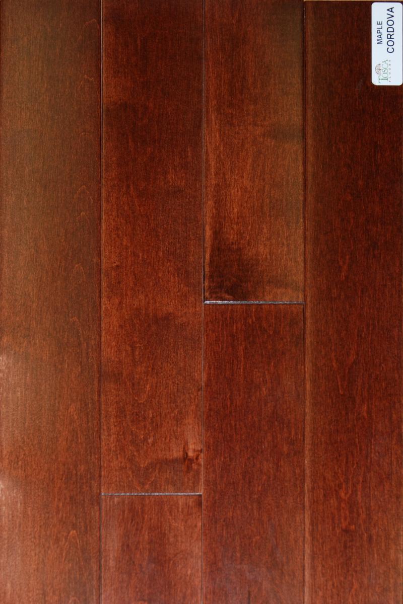 Tosca Floors Maple Pre Finished Hardwood Flooring